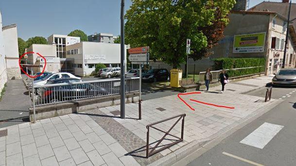Vue Rue de Belleville